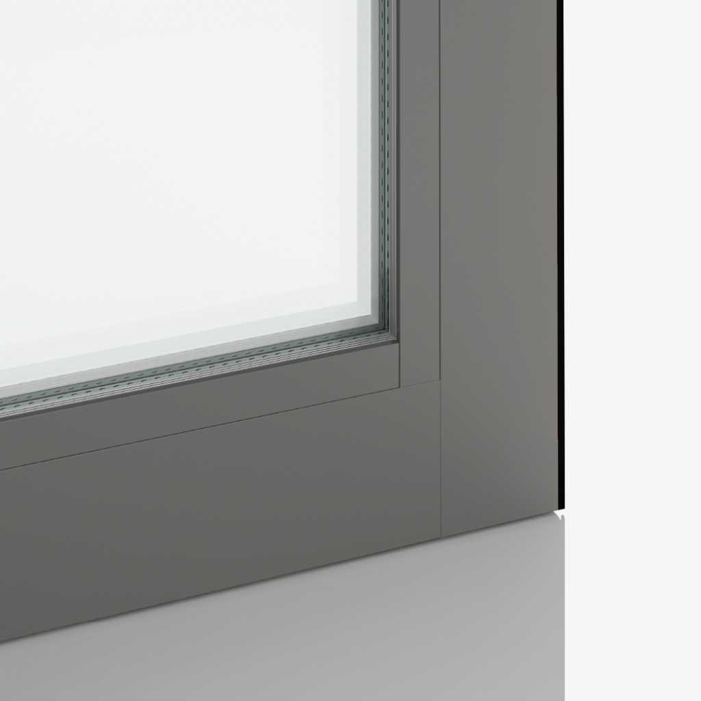 Grey aluminium | RAL9007